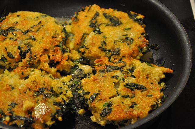 Blog 36 - 6 golden patties ready to eat