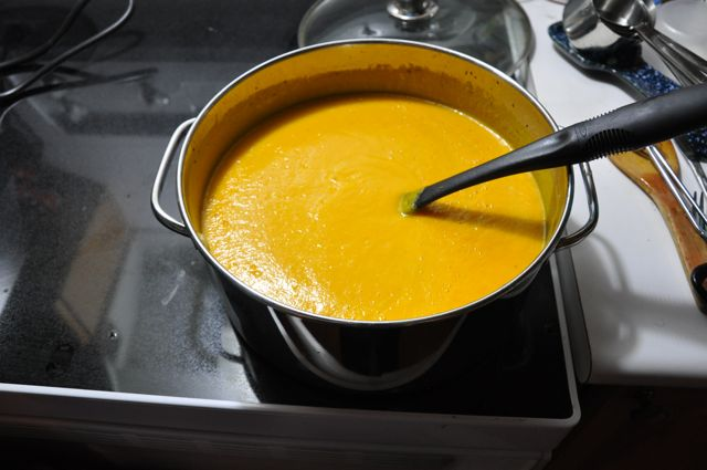 Blog 37 - 5 Blended carrot soup