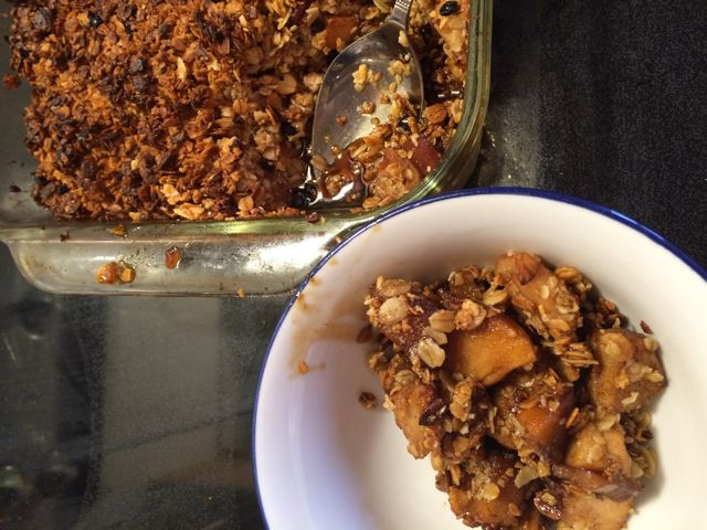 Blog 38 - 5 apple crisp
